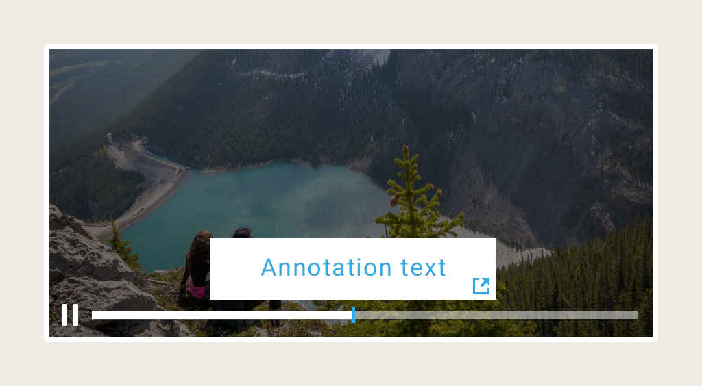 Increase User Interaction by adding Annotations to your Video